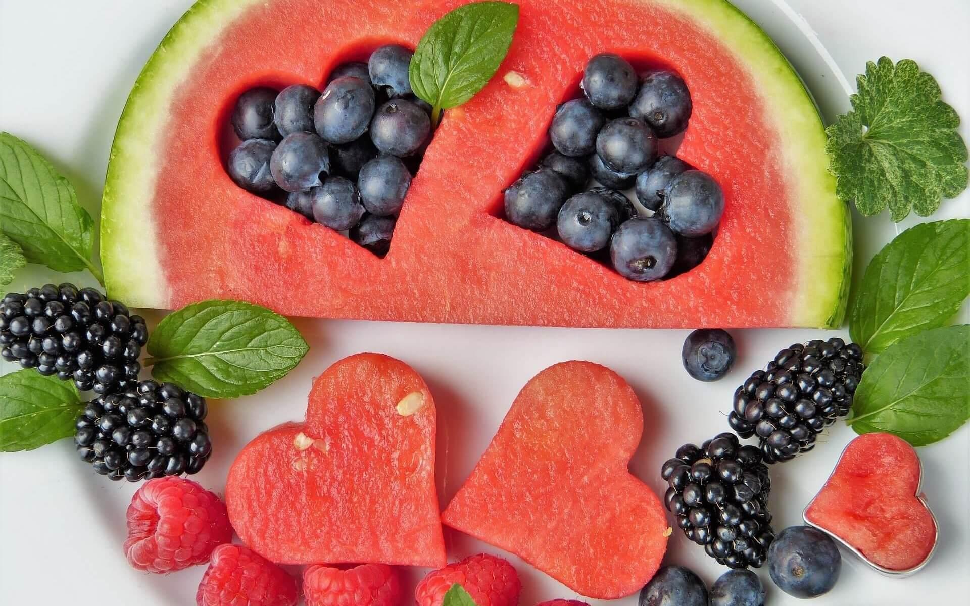 Kreative Fotoidee mit Obst